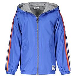 OshKosh B'gosh® Reversible Hooded Jacket in Blue/Grey