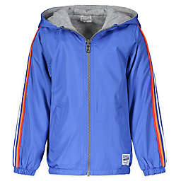 OshKosh B'gosh® Reversible Hooded Jacket in Blue/Grey