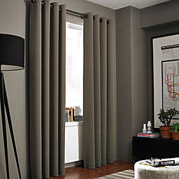 Kenneth Cole Gotham Grommet Room Darkening Window Curtain Panel