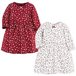 Hudson Baby® 2-Pack Winterland Dresses