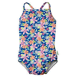 i play.® by green sprouts® Paradise Flower Swimsuit and Diaper in Blue