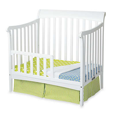 Child Craft™ Coventry Toddler Guard Rails for Convertible Mini Cribs in White