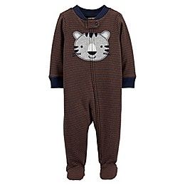 carter's® Zip-Front Tiger Sleep & Play Footie