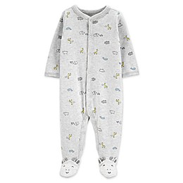 carter's® Snap-Front Giraffe Sleep & Play Footie