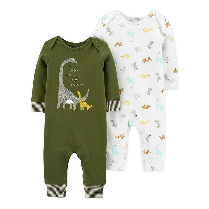 Carters Baby 2-Pack Sleeper Gowns with Elephant Print