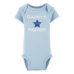 carter's® Preemie Daddy's Fighter Bodysuit