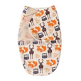 Hudson Baby® Size 0-3M Plush Swaddle
