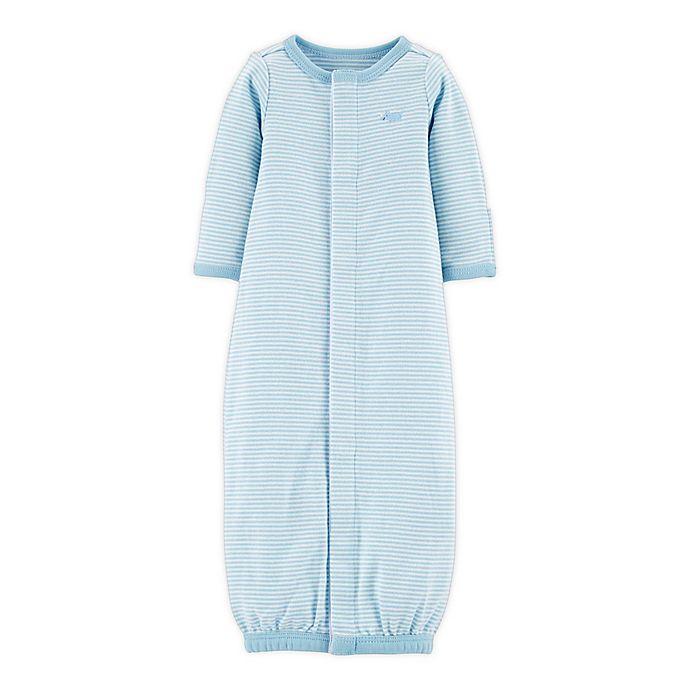 Alternate image 1 for carter's® Preemie Sleep Bag in Blue