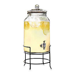 2 75 Gallon Gl Beverage Dispenser With Metal Stand