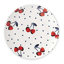 kate spade new york Vintage Cherry Dot Tidbit Accent Plate in Red