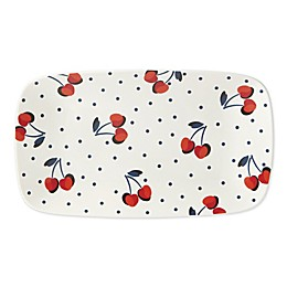 kate spade new york Vintage Cherry Dot Hors d'oeuvres Tray