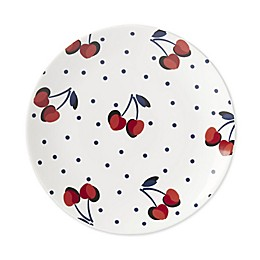 kate spade new york Vintage Cherry Dot Tidbit Accent Plates in Red (Set of 4)