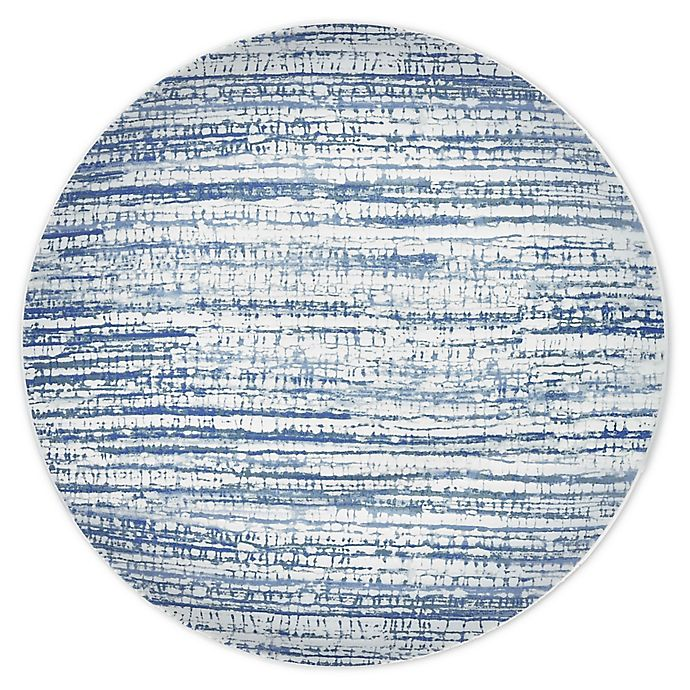 Alternate image 1 for Noritake® Colorwave Weave Accent Plates in Blue (Set of 4)