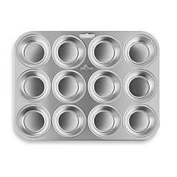 Fox Run® 12-Cup Stainless Steel Muffin Pan