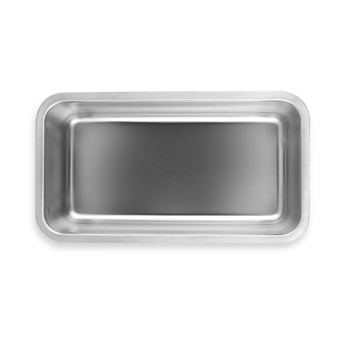 Alternate image 1 for Fox Run Brands™ Stainless Steel Loaf Pan
