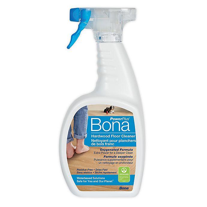 Alternate image 1 for Bona PowerPlus® 32 oz. Hardwood Floor Cleaner