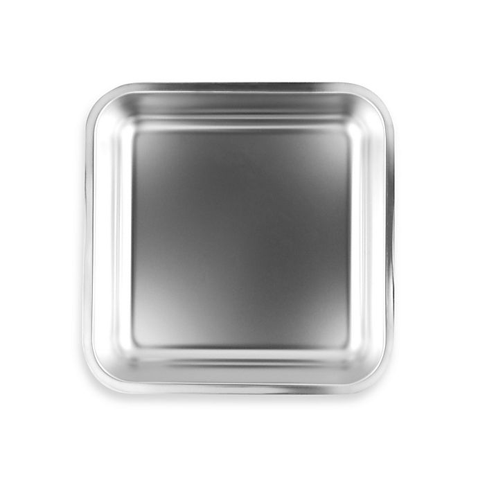 Alternate image 1 for Fox Run® Stainless Steel 7-1/2-Inch Square Cake Pan
