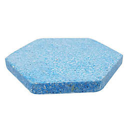 Jodhpuri™ Terrazzo Hexagon Coasters in Navy (Set of 4)