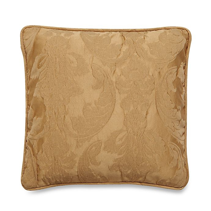 Alternate image 1 for Sure Fit® Matelasse Damask 18-Inch Square Pillow