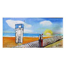 William DeBilzan Laguna Beach Lifeguard Canvas Wall Art