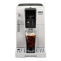De'Longhi Dinamica TrueBrew Over Ice Automatic Coffee and Espresso Maker in White