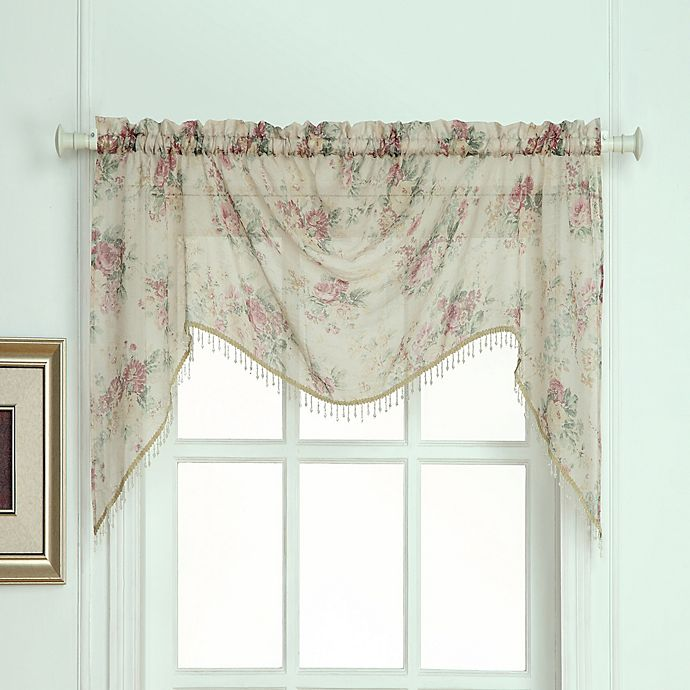 Laura Ashley® Stowe Window Curtain Swag Valence