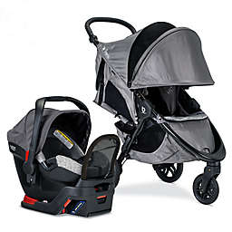 BRITAX® B-Free Sport & Endeavours Travel System in Grey/Black