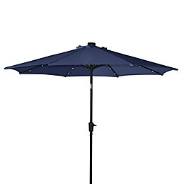 9-Foot Aluminum Solar Umbrella