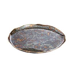 Julia Knight® Cascade 13-Inch Round Tray in Rainbow Bronze