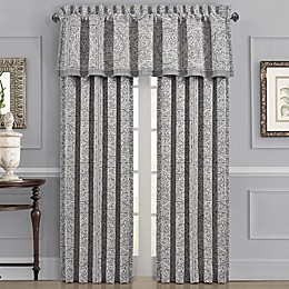 J. Queen New York™ Matteo 2-Pack Rod Pocket Window Curtain in Charcoal