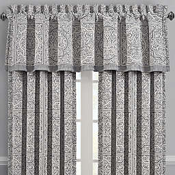 J. Queen New York™ Matteo Straight Valance in Charcoal