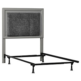 Hillsdale Furniture Lyndon Lane LED Lighted Headboard with Frame and Nightstand
