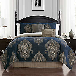 Waterford® Ryan 4-Piece Reversible Comforter Set