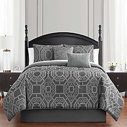 Waterford® Liam 4-Piece Reversible Comforter Set