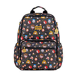 Ju-Ju-Be® Be Zealous Harry Potter™ Cheering Charms Diaper Backpack in Grey