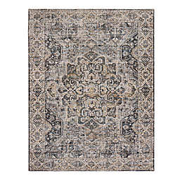 Zagros Handcrafted Area Rug in Brown/Grey