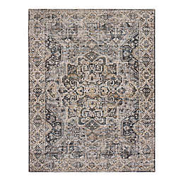 Zagros 7'6 x 9' Handcrafted Area Rug in Brown/Grey