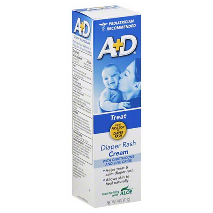 Alternate image 1 for A+D 4 oz. Ointment With Zinc Tube