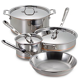 All-Clad Copper Core® 7-Piece Cookware Set