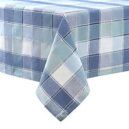 Brooke Woven Plaid 60-Inch x 140-Inch Oblong Tablecloth