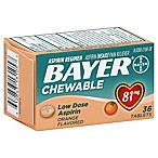 Bayer 36-Count 81 mg Low Dose Chewable Aspirin
