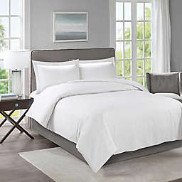 Cathay® Home Solid 3-Piece Duvet Cover Set