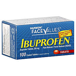 Harmon® Face Values™ 100-Count 200 mg Ibuprofen Tablets