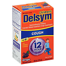 Delsym® 3 oz. Children's 12-Hour Cough Suppressant in Grape