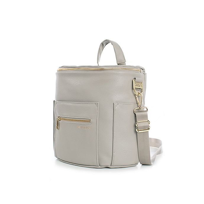 Alternate image 1 for Fawn Design The Mini Diaper Backpack in Grey