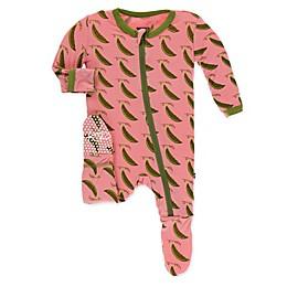 KicKee Pants® Toddler Sweet Pea Footie Pajama in Pink