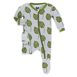 KicKee Pants® Toddler Philodendron Footie Pajama in Purple
