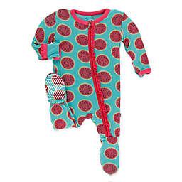 KicKee Pants® Watermelon Footie Pajama in Blue