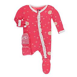 KicKee Pants® Full Moon Footie Pajama in Red
