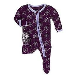 KicKee Pants® Toddler Atoms Footie Pajama in Purple